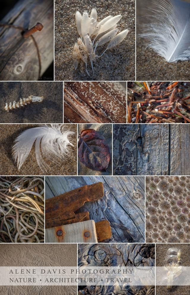 Beach Details Collage